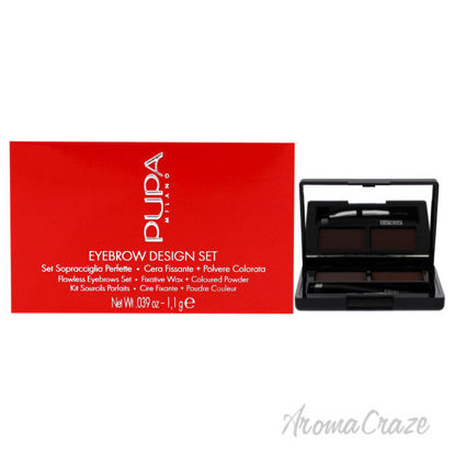 Picture of Eyebrow Design Set 003 Dark Brown by Pupa Milano for Women