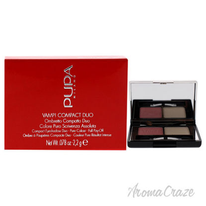 Picture of Vamp! Compact Duo Eyeshadow 001 Rose Perlage by Pupa Milano for Women 0.078 oz Eye Shadow