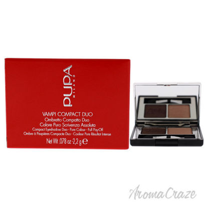 Picture of Vamp! Compact Duo Eyeshadow 004 Bronze Amber by Pupa Milano for Women 0.078 oz Eye Shadow