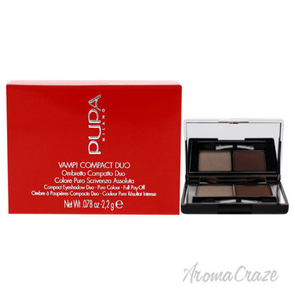 Picture of Vamp! Compact Duo Eyeshadow 005 Milk Chocolate by Pupa Milano for Women 0.078 oz Eye Shadow
