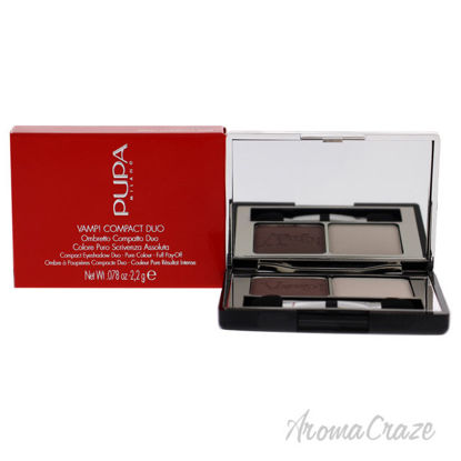 Picture of Vamp! Compact Duo Eyeshadow 006 Brown Vanilla by Pupa Milano for Women 0.078 oz Eye Shadow