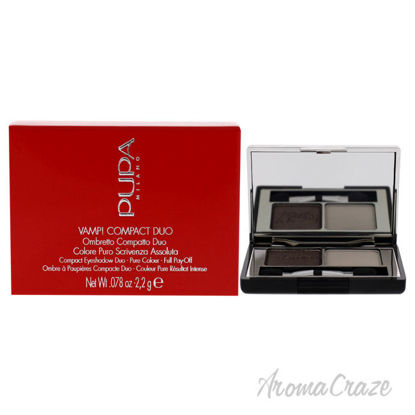 Picture of Vamp! Compact Duo Eyeshadow 008 Cream Taupe by Pupa Milano for Women 0.078 oz Eye Shadow