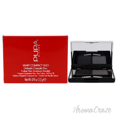 Picture of Vamp! Compact Duo Eyeshadow 009 Silver Stone by Pupa Milano for Women 0.078 oz Eye Shadow