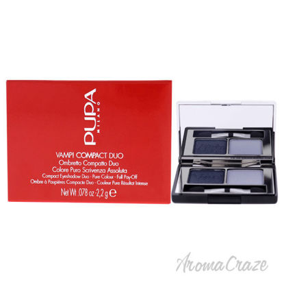 Picture of Vamp! Compact Duo Eyeshadow 012 Magnetic Blue by Pupa Milano for Women 0.078 oz Eye Shadow