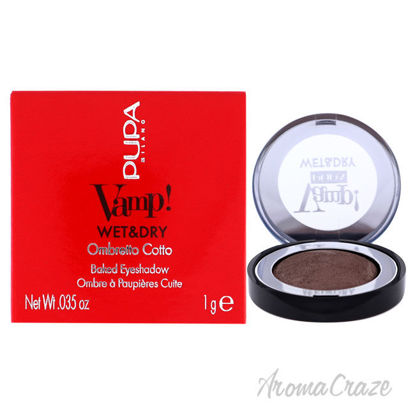 Picture of Vamp! Wet and Dry Baked Eyeshadow 102 Golden Taupe by Pupa Milano for Women 0.035 oz Eye Shadow