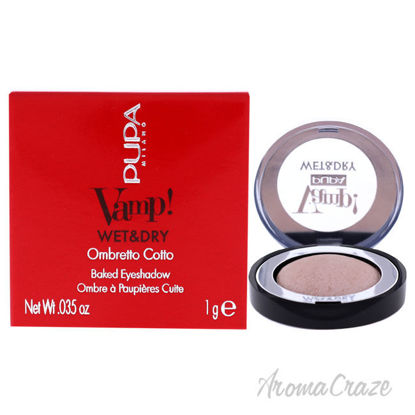 Picture of Vamp! Wet and Dry Baked Eyeshadow 200 Luminous Rose by Pupa Milano for Women 0.035 oz Eye Shadow