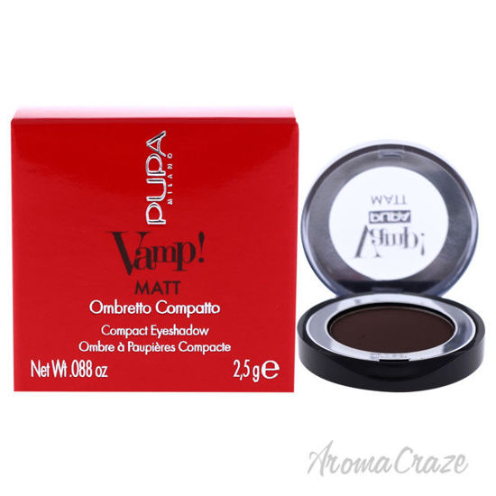 Picture of Vamp! Matt Compact Eyeshadow 050 Dark Chocolate by Pupa Milano for Women 0.088 oz Eye Shadow