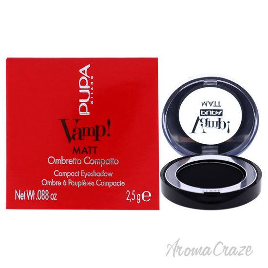 Picture of Vamp! Matt Compact Eyeshadow 060 Deep Black by Pupa Milano for Women 0.088 oz Eye Shadow