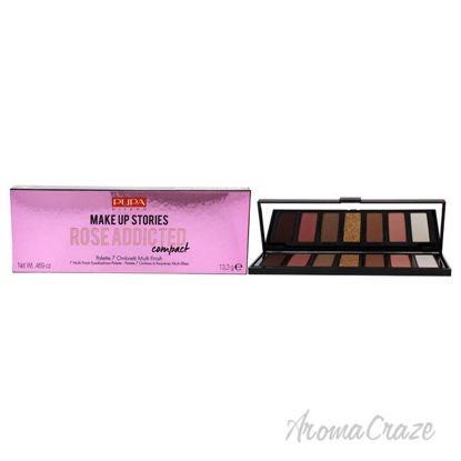 Picture of Make Up Stories Compact Palette 004 Rose Addicted by Pupa Milano for Women 0.469 oz Eye Shadow