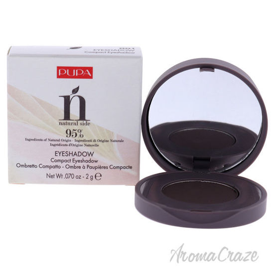 Picture of Natural Side Compact Eyeshadow 001 Violet Graphite by Pupa Milano for Women 0.07 oz Eye Shadow