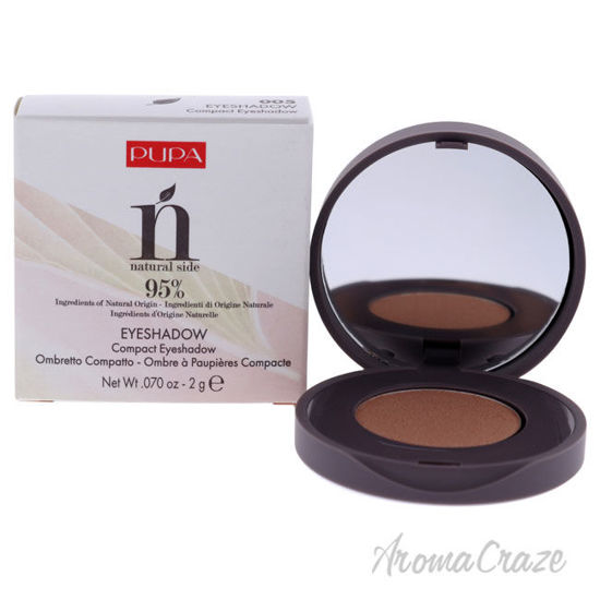 Picture of Natural Side Compact Eyeshadow 005 Gold Glimmer by Pupa Milano for Women 0.07 oz Eye Shadow