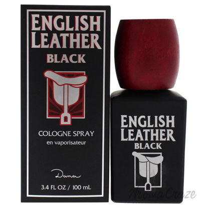 Picture of English Leather Black by Dana for Men 3.4 oz Cologne Spray