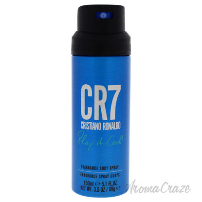 Picture of CR7 Play It Cool by Cristiano Ronaldo for Men 5.1 oz Body Spray