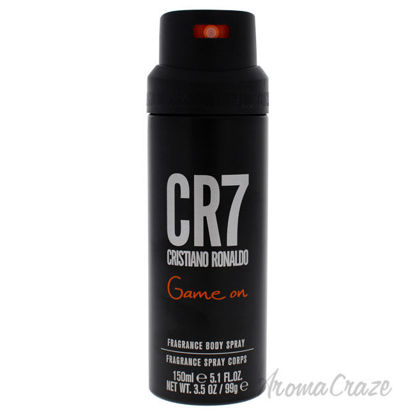 Picture of CR7 Game On by Cristiano Ronaldo for Men 5.1 oz Body Spray