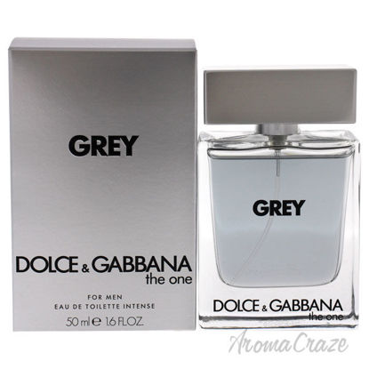 Picture of The One Grey Intense by Dolce and Gabbana for Men 1.6 oz EDT Spray