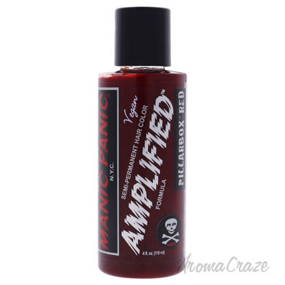 Picture of Amplified Hair Color Pillarbox Red by Manic Panic for Unisex 4 oz Hair Color