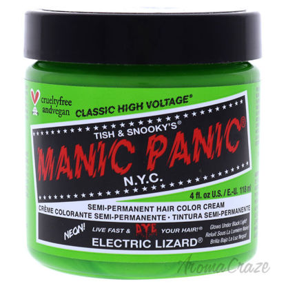 Picture of Classic High Voltage Hair Color Electric Lizard by Manic Panic for Unisex 4 oz Hair Color