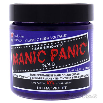 Picture of Classic High Voltage Hair Color Ultra Violet by Manic Panic for Unisex 4 oz Hair Color