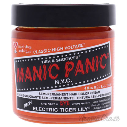 Picture of Classic High Voltage Hair Color Electric Tiger Lily by Manic Panic for Unisex 4 oz Hair Color