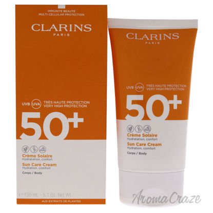 Picture of Sun Care Cream SPF 50 by Clarins for Unisex 5.1 oz Sunscreen