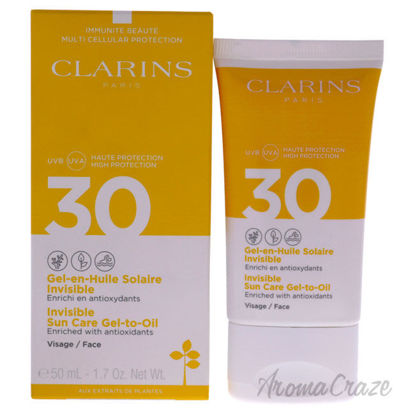 Picture of Invisible Sun Care Gel to Oil SPF 30 by Clarins for Unisex 1.7 oz Sunscreen