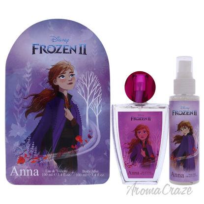 Picture of Frozen II Anna by Disney for Kids 2 Pc Gift Set 3.4oz EDT Spray, 3.4oz Body Mist