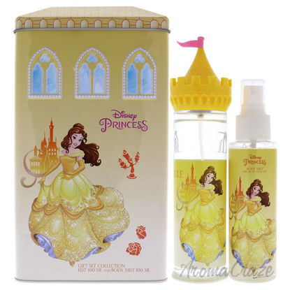 Picture of Belle by Disney for Kids 2 Pc Gift Set 3.4oz EDT Spray, 3.4oz Body Mist