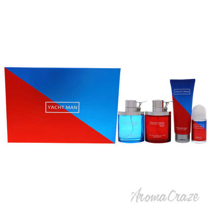 Picture of Yacht Man Blue and Yacht Man Red by Myrurgia for Men
