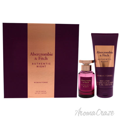 Picture of Authentic Night by Abercrombie and Fitch for Women 2 Pc Gift Set