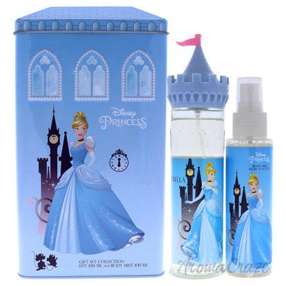Picture of Cinderella by Disney for Kids 2 Pc Gift Set 3.4oz EDT Spray, 3.4oz Body Mist