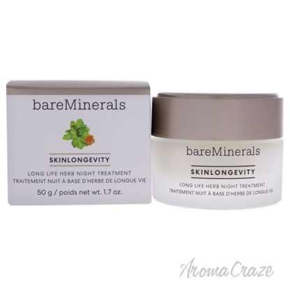 Picture of Skinlongevity Long Life Herb Night Treatment by bareMinerals for Unisex 1.7 oz Treatment