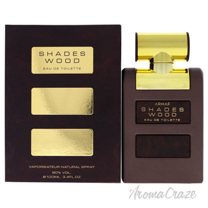 Picture of Shades Wood by Armaf for Men 3.4 oz EDT Spray
