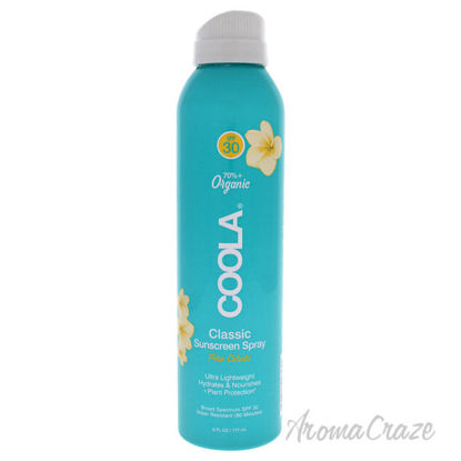 Picture of Classic Body Organic Sunscreen Spray SPF 30 Pina Colada by Coola for Unisex 6 oz Sunscreen