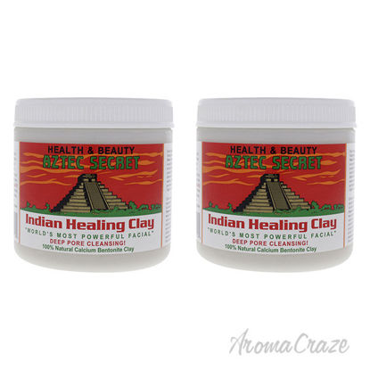 Picture of Indian Healing Clay by Aztec Secret for Unisex 1 lb Clay Pack of 2