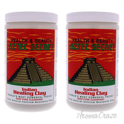 Picture of Indian Healing Clay by Aztec Secret for Unisex 2 lb Clay Pack of 2