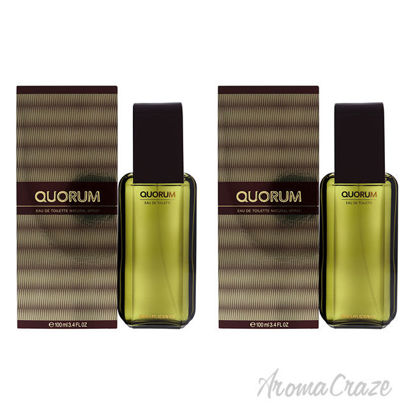 Picture of Quorum by Antonio Puig for Men 3.4 oz EDT Spray Pack of 2
