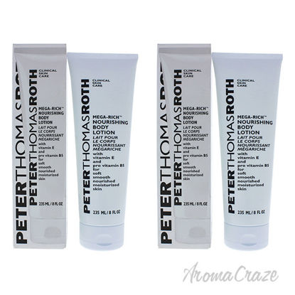 Picture of Mega Rich Body Lotion by Peter Thomas Roth for Unisex 8 oz Body Lotion Pack of 2