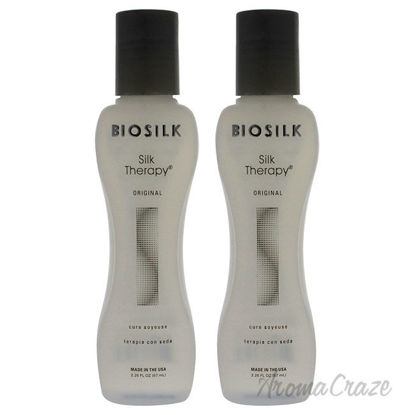 Picture of Silk Therapy Original Treatment by Biosilk for Unisex 2.26 oz Treatment Pack of 2