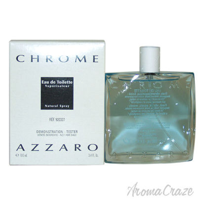 Picture of Chrome by Azzaro for Men 3.4 oz EDT Spray