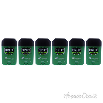 Picture of Classic 48H Protection Deodorant Stick by Brut for Men - 2.25 oz Deodorant Stick - Pack of 6