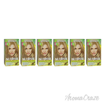 Picture of Nutrisse Nourishing Color Creme 80 Medium Natural Blonde by Garnier for Unisex 1 Application Hair Color Pack of 6