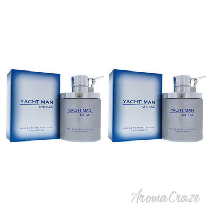 Picture of Yacht Man Metal by Myrurgia for Men - 3.4 oz