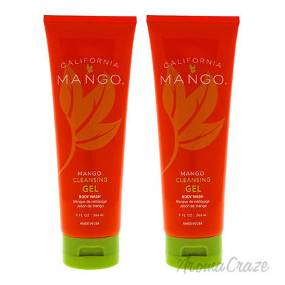 Picture of Mango Cleansing Gel Body Wash by California Mango for Unisex - 9 oz