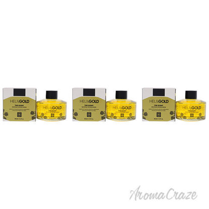 Picture of The Scent Reed Difuser Set by Helis Gold for Unisex - 2 Pc 3.3oz Diffuser, 7Pc Fiber Stick - Pack of 3
