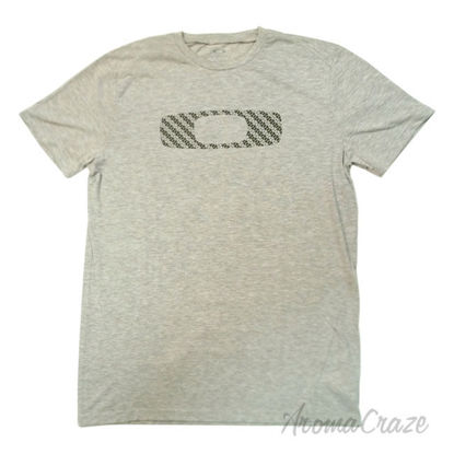 Picture of No Way Out O Tee Short Sleeve Heather Grey Large by Oakley for Men 1 Pc T Shirt