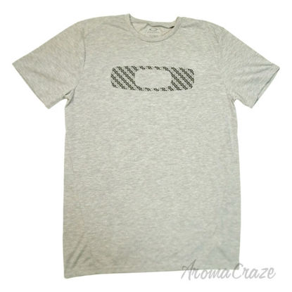 Picture of No Way Out O Tee Short Sleeve Heather Grey Medium by Oakley for Men 1 Pc T Shirt