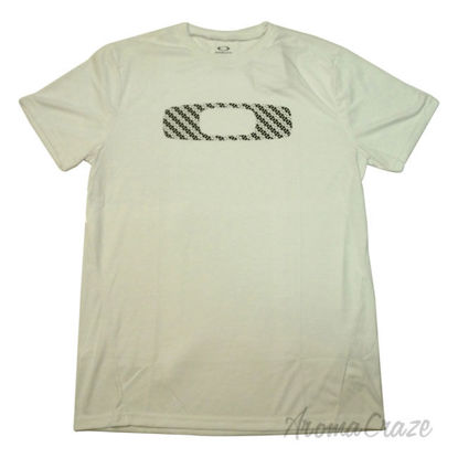 Picture of No Way Out O Tee Short Sleeve White Large by Oakley for Men 1 Pc T Shirt