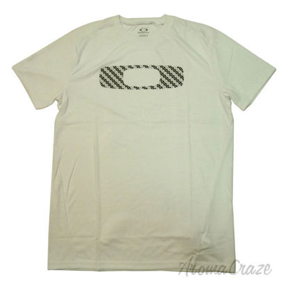 Picture of No Way Out O Tee Short Sleeve White Medium by Oakley for Men 1 Pc T Shirt