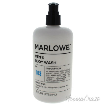 Picture of No. 103 Mens Body Wash by Marlowe for Men 16 oz Body Wash