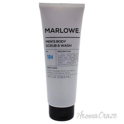 Picture of No. 104 Mens Body Scrub & Wash by Marlowe for Men 8 oz Scrub